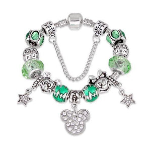 cartoon DIYOS™ Charm Bracelet GREEN / 18cm - DiyosWorld