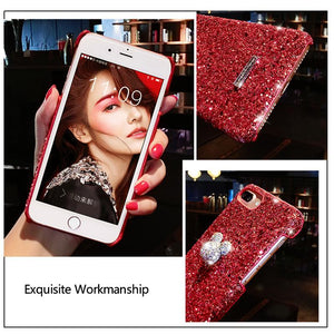 Luxury Crystal Mobile Cover