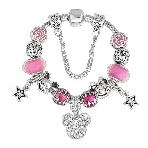 cartoon DIYOS™ Charm Bracelet PINK / 18cm - DiyosWorld