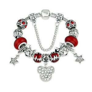 cartoon DIYOS™ Charm Bracelet RED / 18cm - DiyosWorld