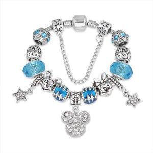 cartoon DIYOS™ Charm Bracelet SKY BLUE / 18cm - DiyosWorld