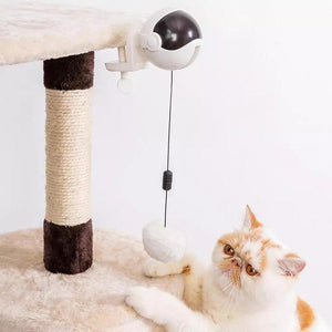 Cat Toys FunTime Kitty™ Interactive Automatic Lifting Cat Toy - DiyosWorld