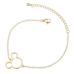 Chain & Link Bracelets Modern Cartoon-Shaped Pendant Bracelet Gold Plated - DiyosWorld