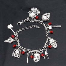 Load image into Gallery viewer, Horror Charms Bracelet