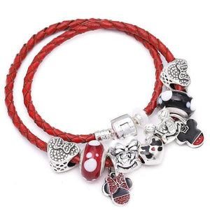 Iconic Cartoon Portrait Charms Bracelet