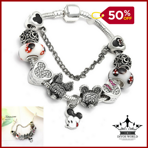 Charm Bracelets New Cartoon Inspired Charm Bracelet - DiyosWorld