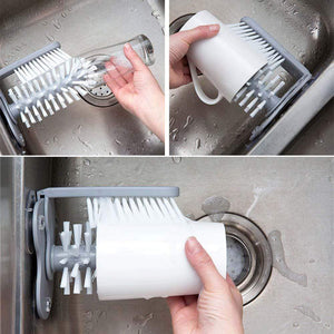 Cleaning Brushes Glass Sink Cleaner - DiyosWorld
