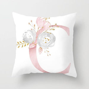Cushion Cover Pink Love Decorative Pillow Cushion Covers C - DiyosWorld