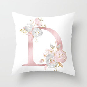 Cushion Cover Pink Love Decorative Pillow Cushion Covers D - DiyosWorld