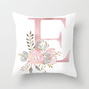 Cushion Cover Pink Love Decorative Pillow Cushion Covers E - DiyosWorld