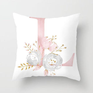 Cushion Cover Pink Love Decorative Pillow Cushion Covers L - DiyosWorld