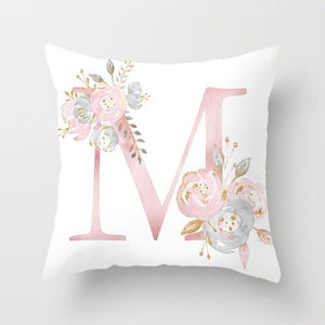 Cushion Cover Pink Love Decorative Pillow Cushion Covers M - DiyosWorld