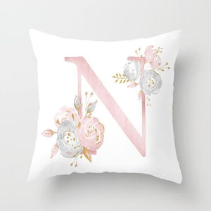 Cushion Cover Pink Love Decorative Pillow Cushion Covers N - DiyosWorld