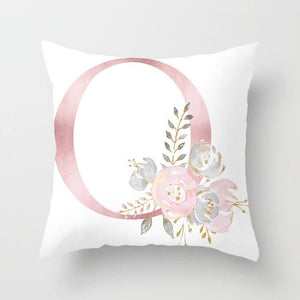 Cushion Cover Pink Love Decorative Pillow Cushion Covers O - DiyosWorld
