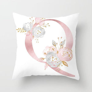 Cushion Cover Pink Love Decorative Pillow Cushion Covers Q - DiyosWorld