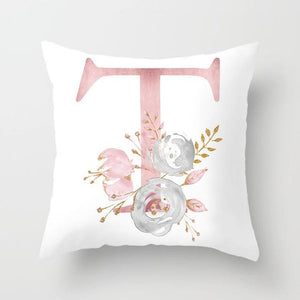 Cushion Cover Pink Love Decorative Pillow Cushion Covers T - DiyosWorld