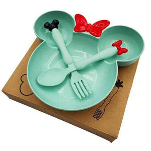Dishes Happy Meal Bowl Set Green - DiyosWorld