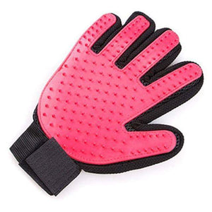 Dog Combs Pet Grooming gloves Pink - DiyosWorld