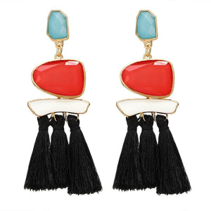 Drop Earrings Drop Dangle Fringe Earring - DiyosWorld