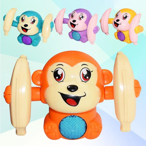 Electronic Pets ROLL & GLOW™ Voice Control Baby Monkey - DiyosWorld