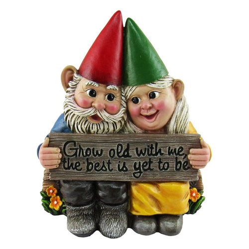 Figurines & Miniatures Naughty Gnome Garden Handmade Decoration Dwarf C - DiyosWorld