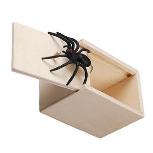 Gags & Practical Jokes Prank Spider Scare Box - DiyosWorld