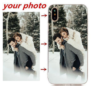 Half-wrapped Case Personalized Custom Print Photo Phone Cases For iPhone 001 / For iphone 4 4s - DiyosWorld