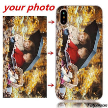 Load image into Gallery viewer, Personalized Custom Print Photo Phone Cases For iPhone