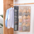 Load image into Gallery viewer, Hanging Organizers Wardrobe Storage Foldable Hanging Organizer - DiyosWorld