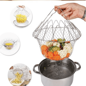 Home Diyos™ Multi-functional Stainless Steel Cooking Basket - DiyosWorld