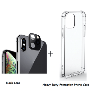 Home Lens (Change to iPhone 11) Black / iPhone X or XS / With Case - DiyosWorld