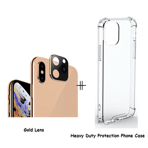 Home Lens (Change to iPhone 11) Gold / iPhone X or XS / With Case - DiyosWorld
