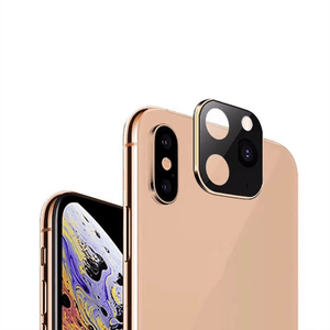 Home Lens (Change to iPhone 11) Gold / iPhone X or XS / Without Case - DiyosWorld