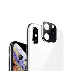 Home Lens (Change to iPhone 11) Silver / iPhone X or XS / Without Case - DiyosWorld