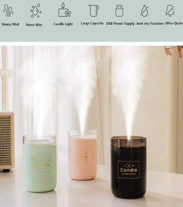 Humidifiers E-Candle Humidifier And Air Purifier - DiyosWorld