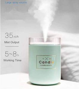 Humidifiers E-Candle Humidifier And Air Purifier Green - DiyosWorld
