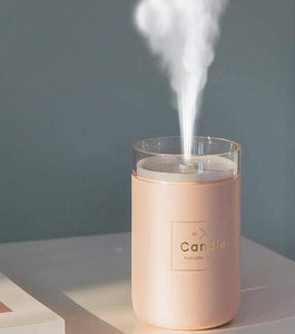 Humidifiers E-Candle Humidifier And Air Purifier Pink - DiyosWorld