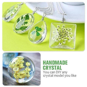 Jewelry Tools & Equipments DIYOS™ DIY Crystal Mold Kit [83 Pcs] - DiyosWorld