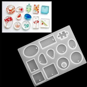 DIYOS™  DIY Crystal Mold Kit [83 Pcs]