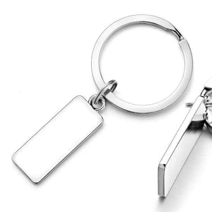 Key Chains Custom Engraved Antilost Keychain - DiyosWorld