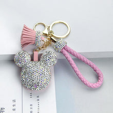 Load image into Gallery viewer, Cute Rhinestone Keychain