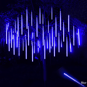 LED String Decorative Snowfall LED Lights BLUE (48 LIGHT WICKS) / AU/NZ Plug - DiyosWorld
