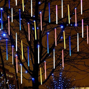 LED String Decorative Snowfall LED Lights MULTI-COLOR (48 LIGHT WICKS) / EU Plug - DiyosWorld