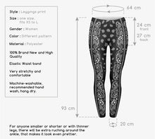 Load image into Gallery viewer, Leggings - High Elasticity Bandana Printed  Slim Fit Legging