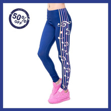 Load image into Gallery viewer, Leggings - Love Music Leggings (NOW 80% DISCOUNT WHILE STOCK  LASTS)
