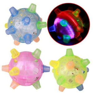Light-Up Toys Jumping Ball For Babies And Pets - DiyosWorld