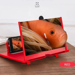 Magnifiers DIYOS™ Universal HD 3D/2D Phone Amplifier Red - DiyosWorld