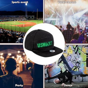 Men's Baseball Caps DIYOS™ LED Message Hat - DiyosWorld