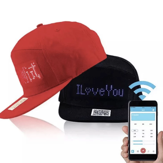 DIYOS™ LED Message Hat