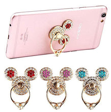 Load image into Gallery viewer, Elegant Rhinestone Ring Mobile Stand